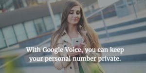 Google Voice is one of productivity expert Maura Nevel Thomas' favorite tools for supporting work-life balance.