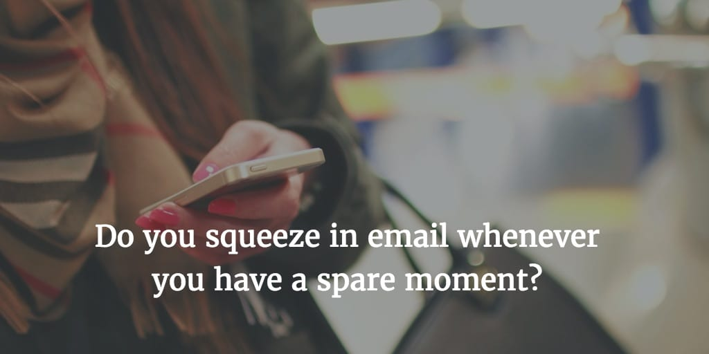 For Managing Email, Make This Surprising Mental Shift