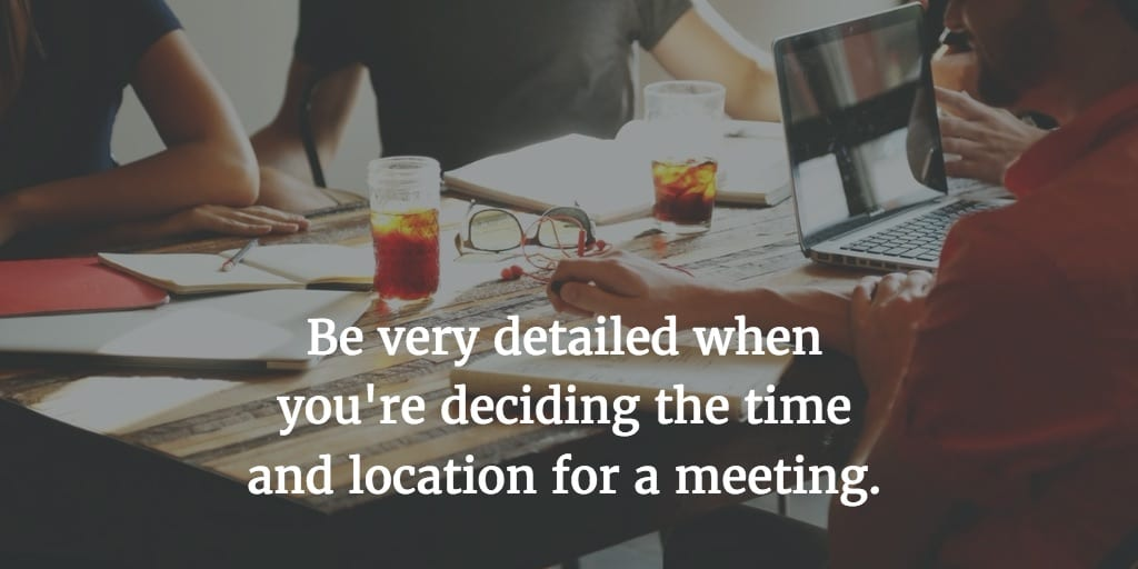 The More Efficient Way to Schedule Meetings