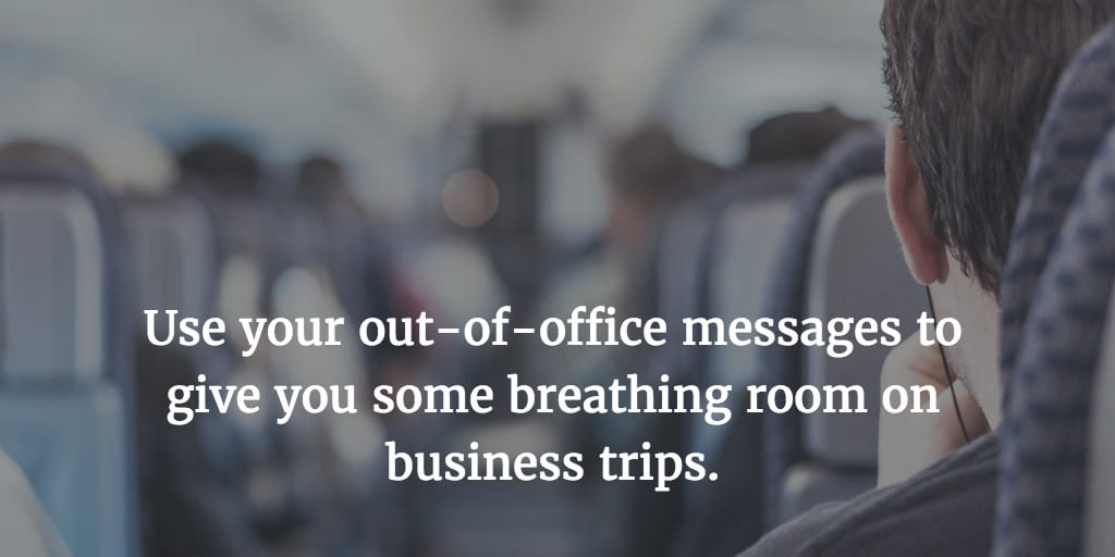 6 Tips for Productive Business Travel