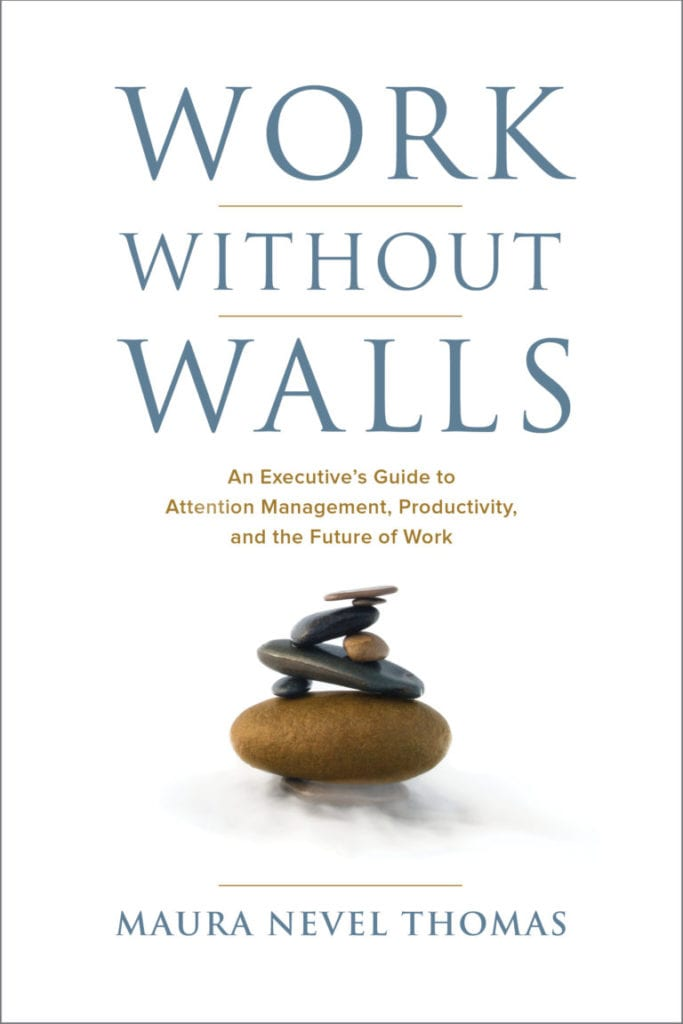 Work Without Walls is a guide to employee productivity by Maura Nevel Thomas