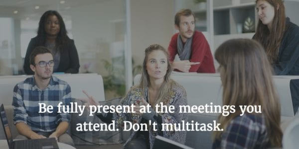 Increase Productivity and Efficiency in Meetings