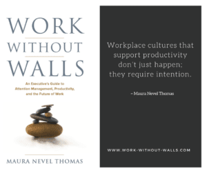 maura thomas bestseller work without walls