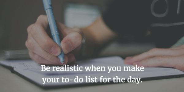 Personal Productivity and Your To-Do List