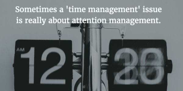 Why You Don't Need More Time Management Tips