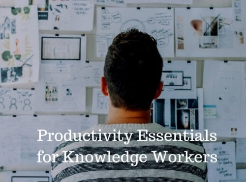 Podcast Preview: Knowledge Workers' Productivity