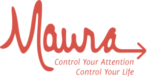 Maura Thomas logo - Control your attention; control your life