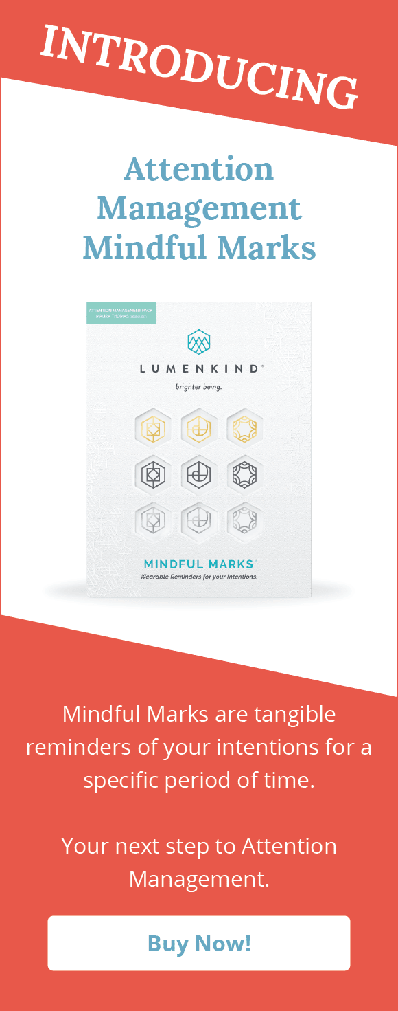 Buy Attention Management Mindful Marks now!