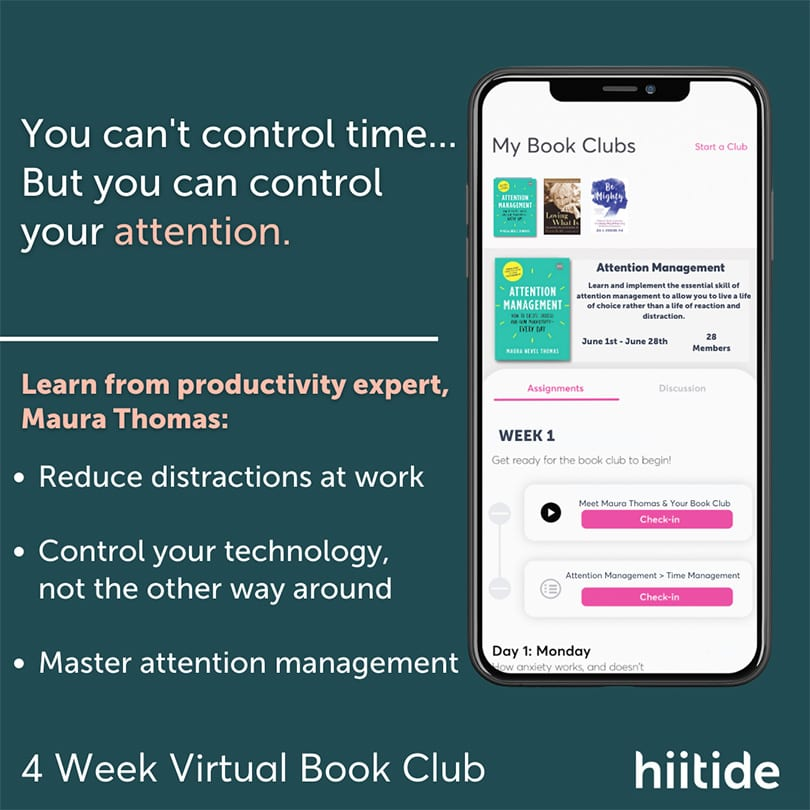 Join the Attention Management book club